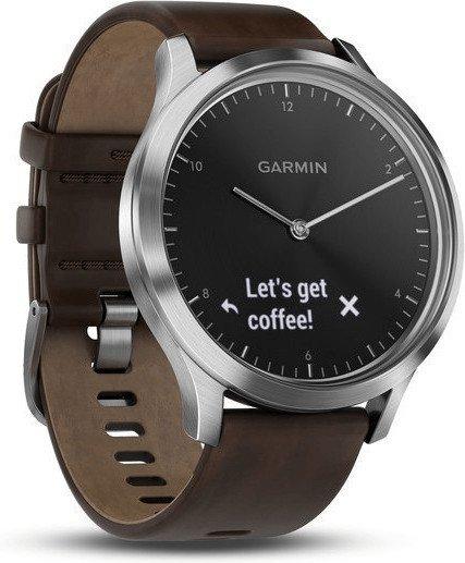 Garmin Vivomove HR Premium Smartwatch in Silber/Schwarz für 166€ (statt 199€)