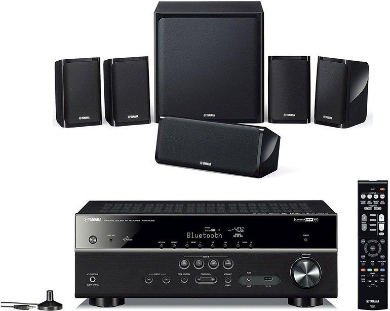 Yamaha YHT-4940 EU 5.1 Heimkinosystem (WLAN, Bluetooth, Spotify) für 405,99€