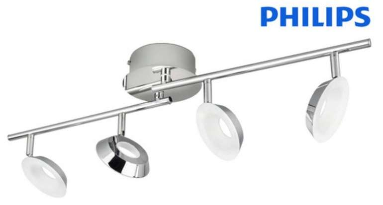 Philips Mackinaw LED-Spots (4x 5 Watt, 9 Volt) für 30,90€ inkl. Versand (statt 76€)