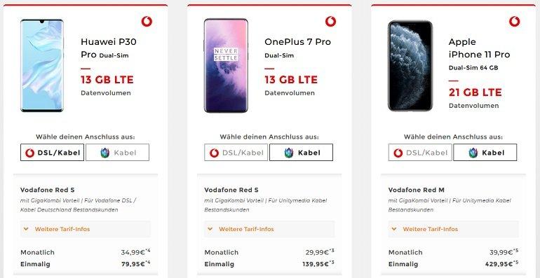 Vodafone GigaKombi Angebote Handyflash 2