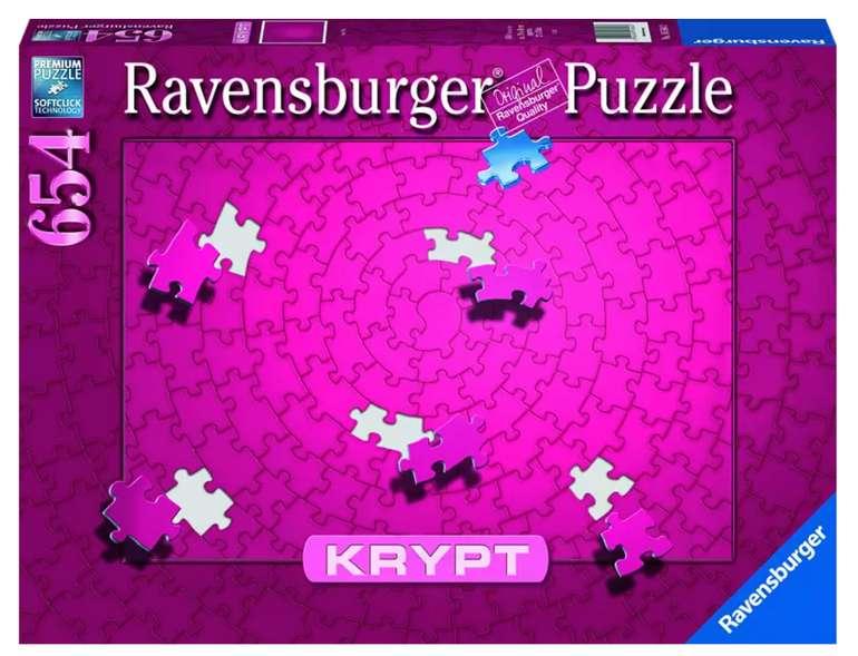 Ravensburger Krypt Pink Puzzle mit 654 Teile für 12,78€ inkl. Versand (statt 15€) - Abholung: 9,79€