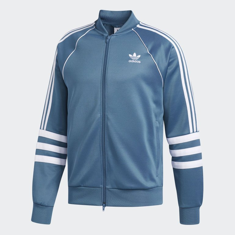Adidas Herren Authentics Originals Jacke in blau für 47,97€ (statt 66€)