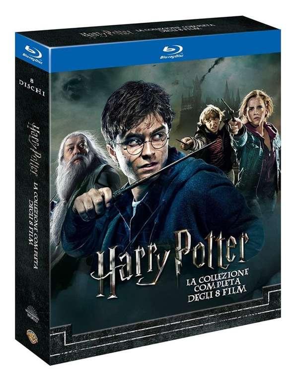Harry Potter Komplettbox Teil 1-8 für 22,47€ inkl. Versand (statt 41€)