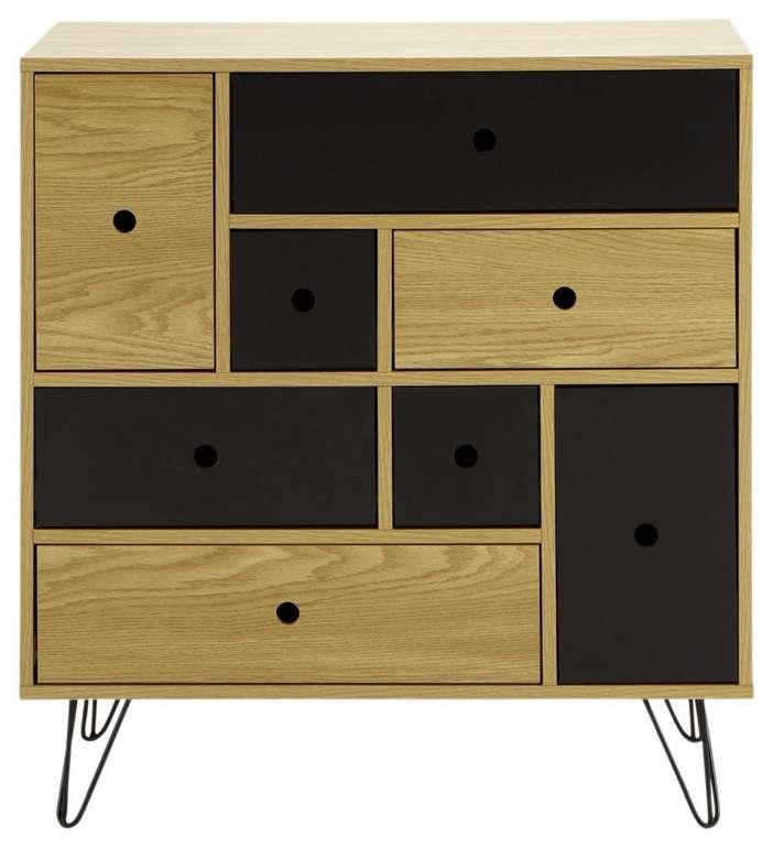Modern Living Kommode aus Holzdekor für 127,25€ inkl. Versand (statt 169€)