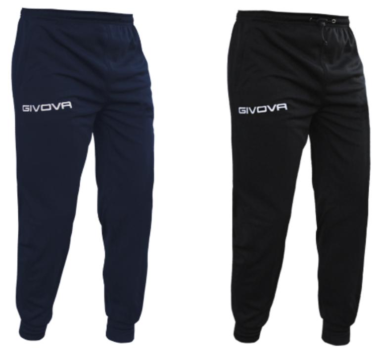Givova One Herren Trainingshose in blau oder schwarz für 12,94€inkl. Versand (statt 19€)