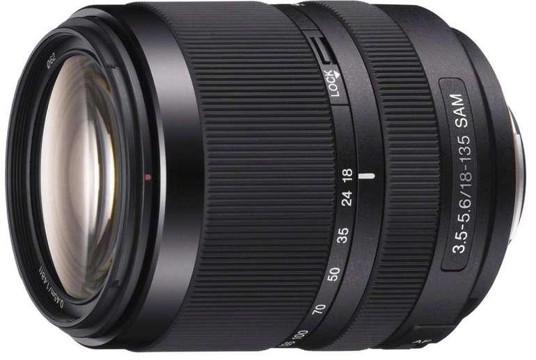 Sony DT 18-135mm f3.5-5.6 SAM (SAL-18135) Objektiv für 349€ inkl. Versand (statt 449€)