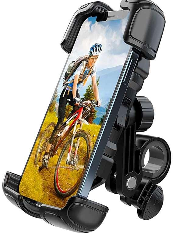 Licheers Handyhalterung für Fahrrad & Motorrad (360 Grad verstellbar) für 11,39€inkl. Prime Versand (statt 19€)