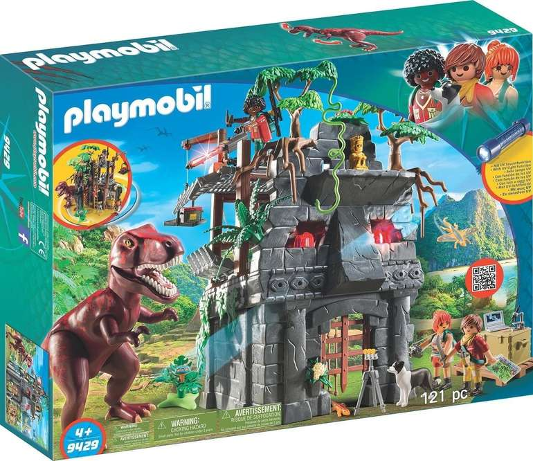 Playmobil Basecamp mit T-Rex (9429) für 34,14€ inkl. Versand (statt 41€)