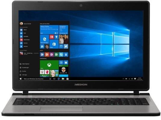 "Medion Akoya E6432 MD 60665 - 15,6"" Notebook (i3, 6GB, 128GB SSD, 1TB) 429,99€"