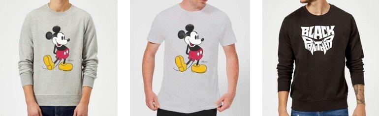 Zavvi T-Shirt + Sweatshirt