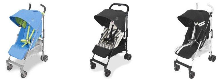 3 Maclaren Baby Kinderwagen Modelle reduziert