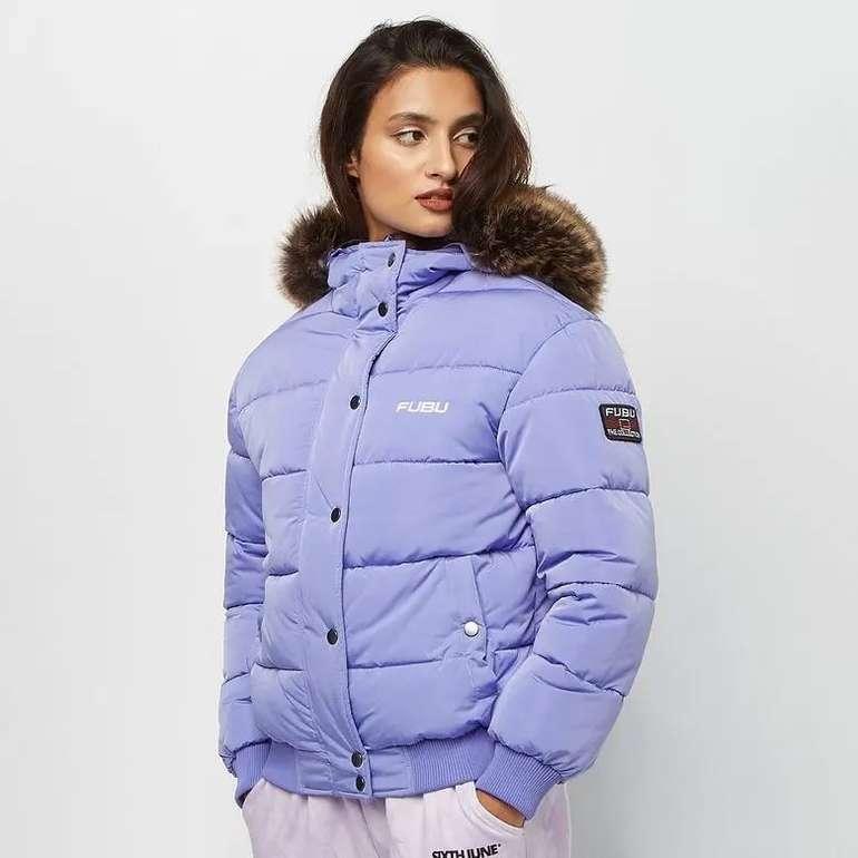Fubu Corporate Hooded Puffer Winterjacken für 55,30€ inkl. Versand (statt 80€)