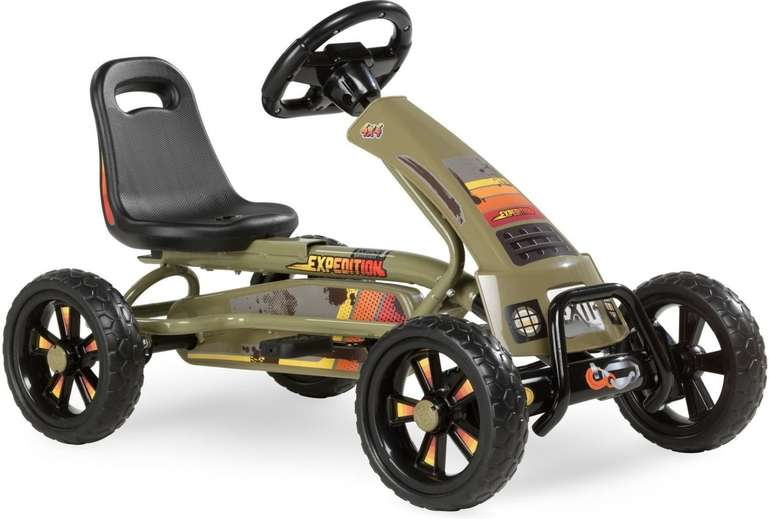 Exit Toys Go-Kart Foxy Expedition dunkelgrün für 79,99€ inkl. Versand (statt 113€)