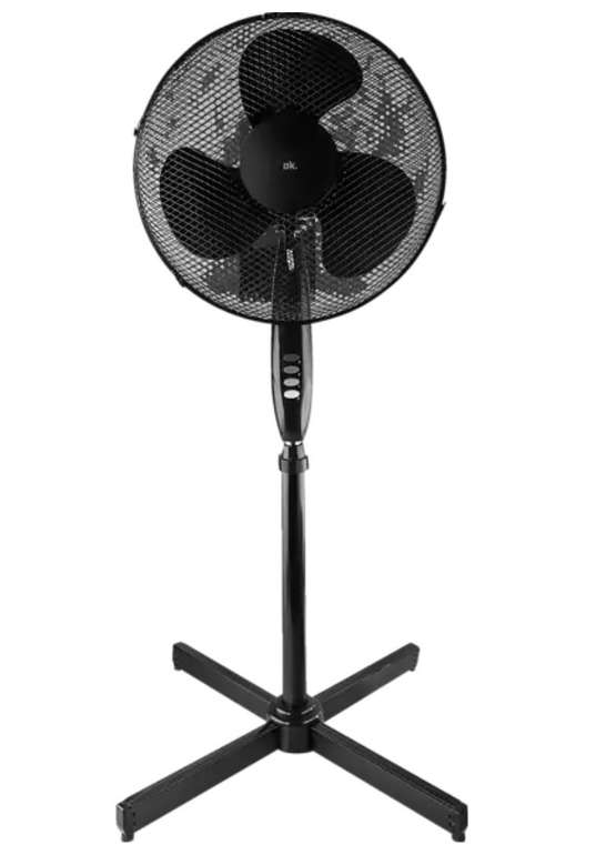 OK. OSF 4331 B Standventilator Schwarz (50 Watt) für 17,83€ inkl. Versand (statt 24€)