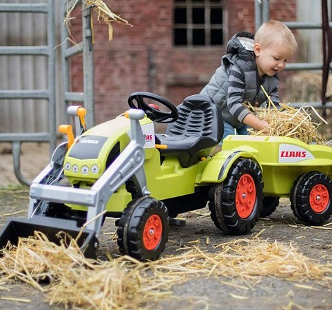 BIG Claas Celtis Traktor + Trailer Claas Celtis Loader für 69€ inkl. VSK