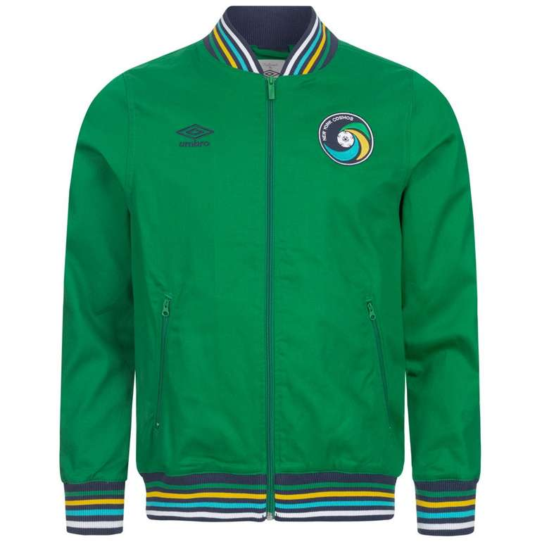 New York Cosmos Umbro Herren Vintage Woven Jacke (S & M) für 13,95€ inkl. Versand