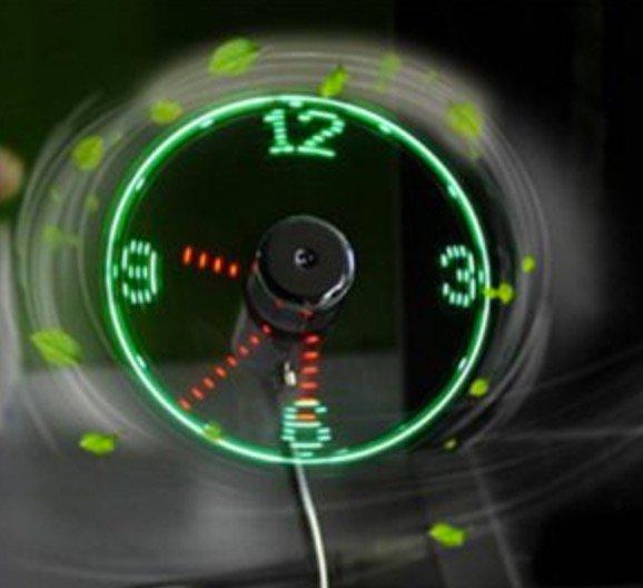 Digitales Thermometer 2,71€, USB-Ventilator 4,77€, USB-Kabelhalter 1,80€