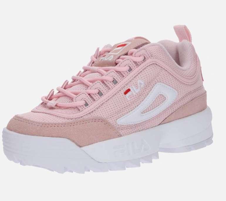 """Fila Damen Sneaker """"Disruptor Mesh"""" in rosé / weiß (Größe 39 & 40) für 46,66€"""