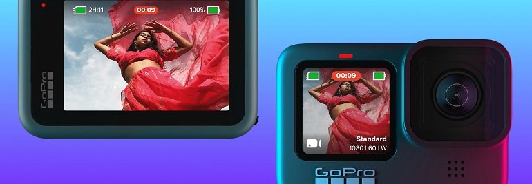 Gopro Hero9 Black Akkus Zubehör-Paket 2