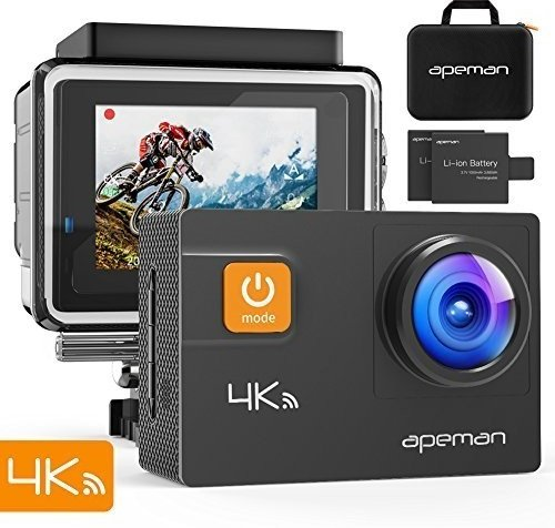 Apeman A80 Action Cam (4K, WiFi) für 66€ inkl. Versand (statt 80€)