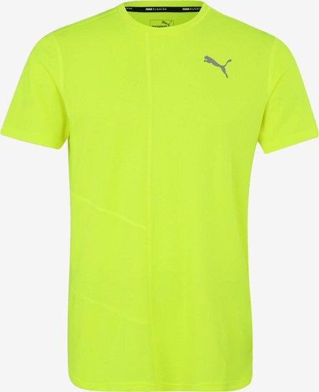 """Puma Funktionsshirt """"Ignite"""" in Gelb für 13,14€ inkl. Versand (statt 25€)"""