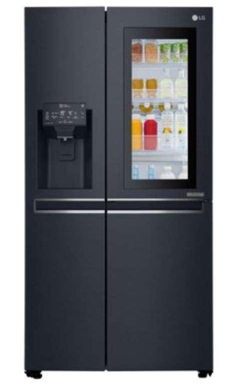 LG GSX 961 MCVZ Side-by-Side Kühlschrank (EEK F, Wassertank, Digitaldisplay, Nutzinhalt: 625 Liter) für 1599€