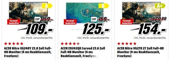 Media Markt Acer Markenwoche