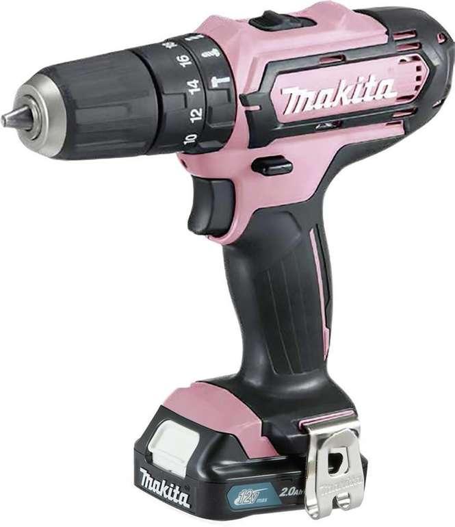 Makita Akku-Schlagbohrschrauber 12V HP331DSAP1 Pink Edition für 94,95€ inkl. Versand (statt 141€)