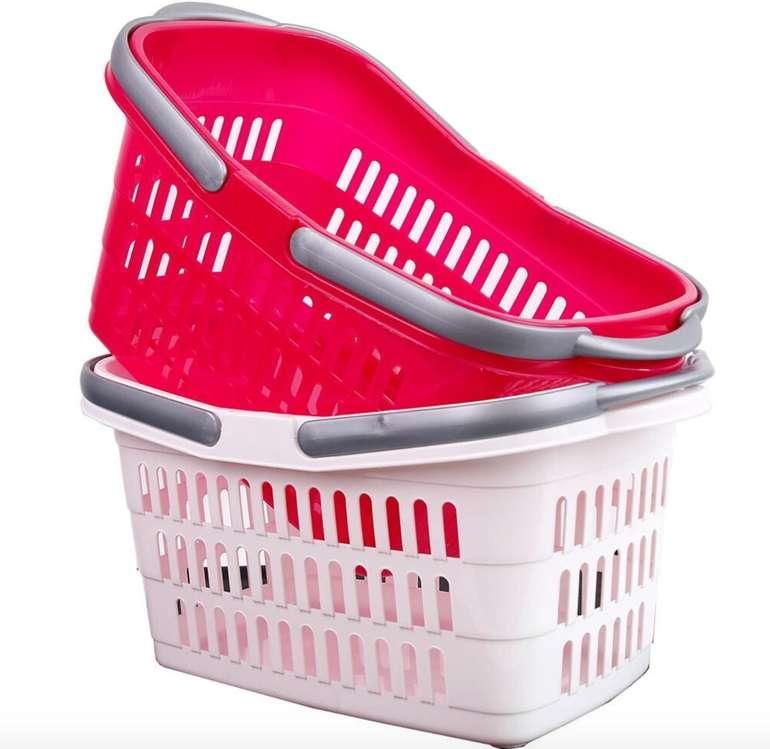 Preisfehler? 25er Pack Stabile Einkaufskörbe für 3,15€ inkl. Versand - perfekt für Hamsterkäufe!