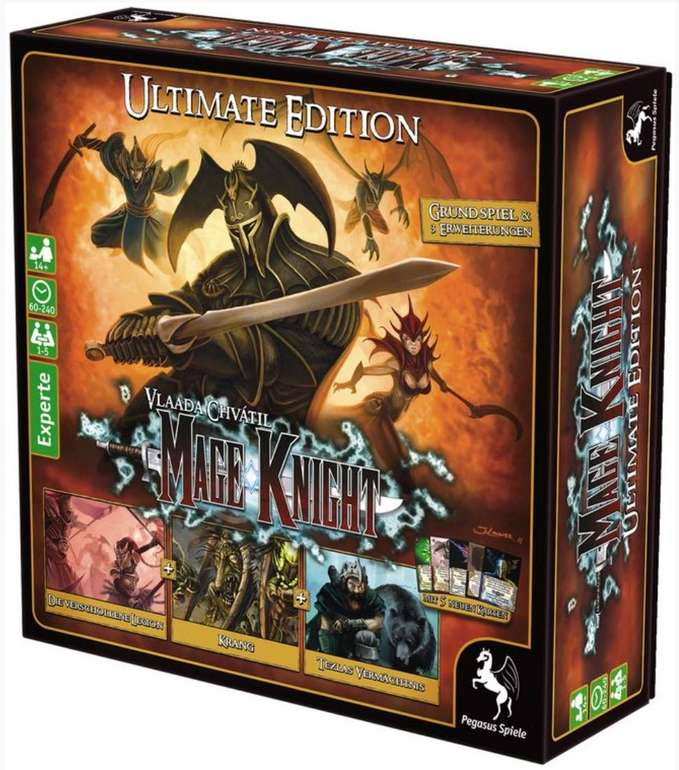 Brettspiel: Mage Knight Ultimate Edition für 67,99€ inkl. Versand (statt 85€)
