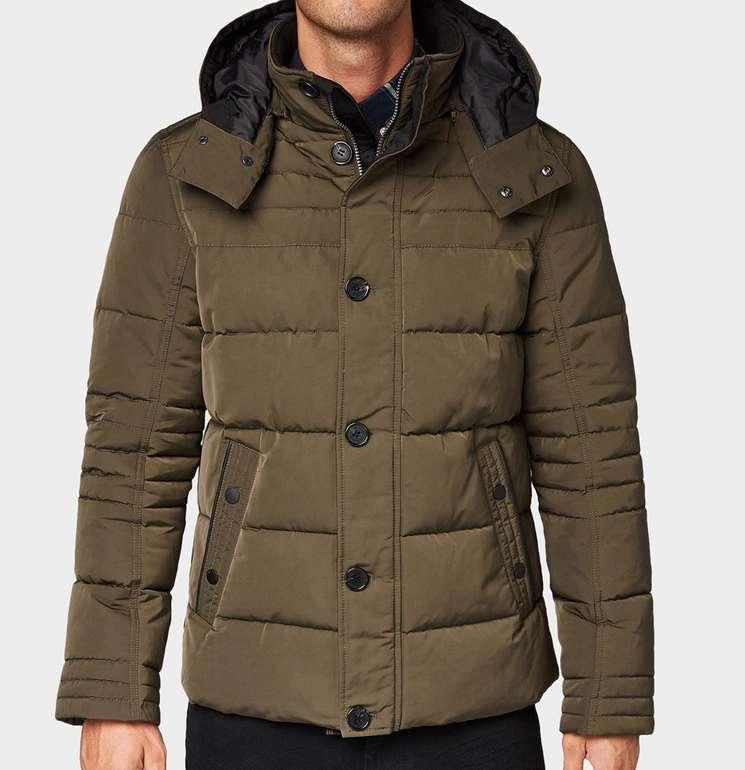 Tom Tailor Osterspecial Sale: 40% auf ausgewählte Styles - z.B. Wattierte Herren Jacke für 77,99€
