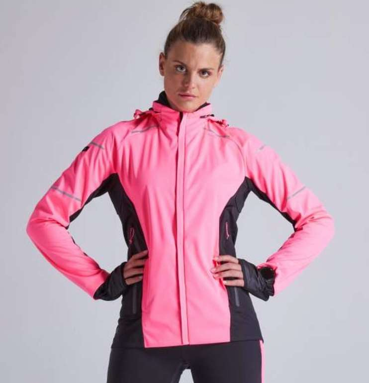 Kiprun Damen Laufjacke Warm Regul in neonrosa für 43,98€ inkl. Versand (statt 64€)