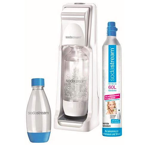 Sodastream Wasserspender Cool + CO2 Zylinder + 2. Flasche für 44,94€ (statt 50€)