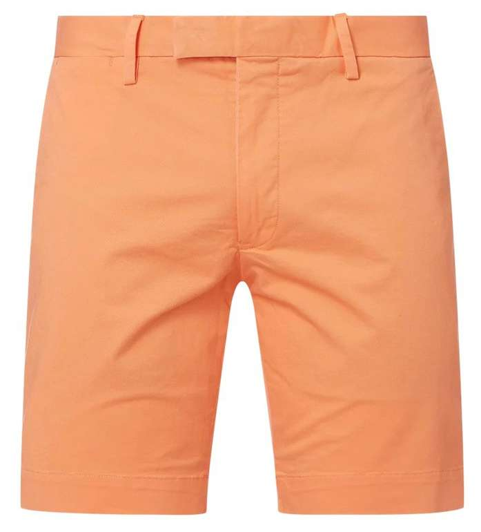 Polo Ralph Lauren Slim Fit Chino-Shorts mit Stretch-Anteil in Orange für 55,99€ (statt 96€)