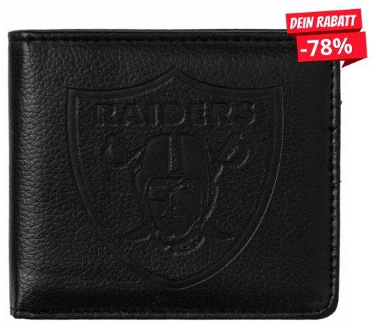Oakland Raiders NFL Portemonnaie für 3,33€ + Versand