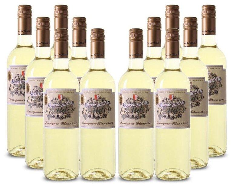 12 Flaschen Casa del Valle El Tidon Sauvignon Blanc für 45€ inkl. Versand