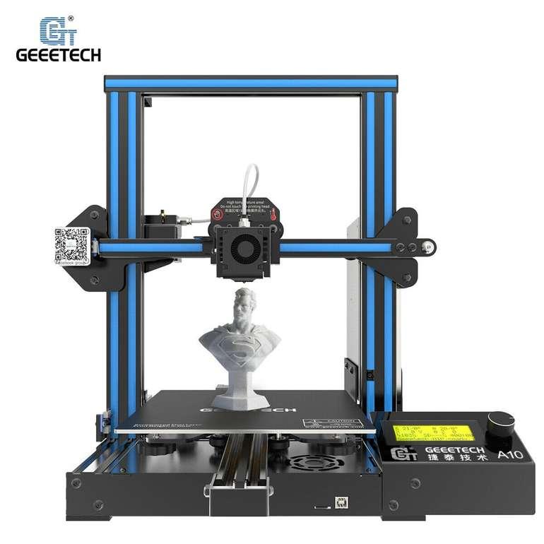 Geeetech A10 3D Drucker (220 x 220 x 260 mm) für 151,04€ inkl. Versand (statt 190€)