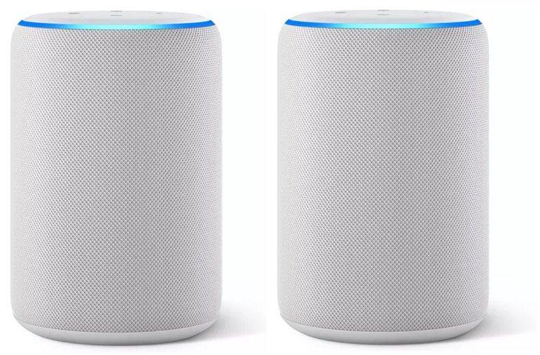 2x Amazon Echo Smart Speaker (3. Generation) für 109,86€ inkl. Versand (statt 140€) - Newsletter Gutschein
