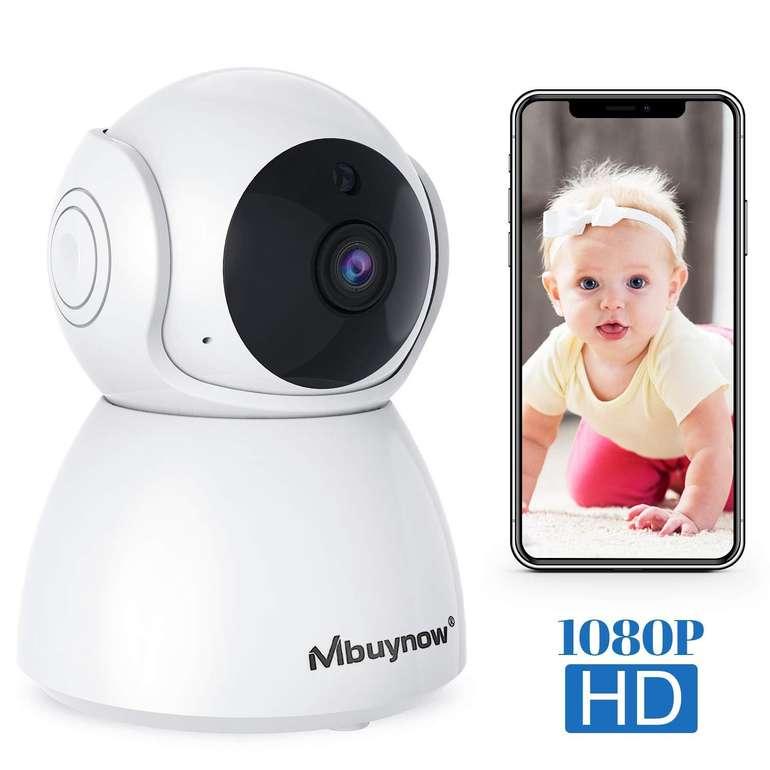 Mbuynow WLAN IP Überwachungskamera mit Nachtsicht für 16,99€ (Prime)