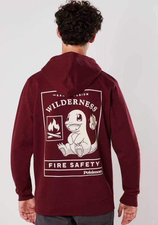 Pokémon Woodland Fire Safety Unisex Kapuzenpulli in Rot für 20,99€ inkl. Versand (statt 35€)