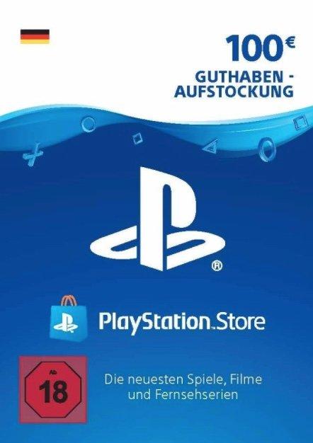 100€ PSN PlayStation Network Guthaben für nur 77,99€