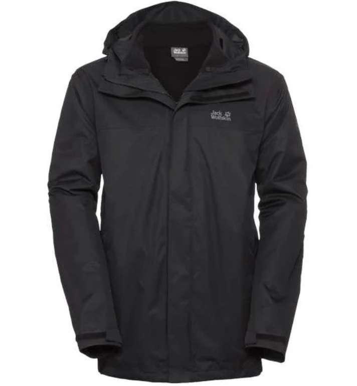 Jack Wolfskin: 20% Rabatt auf Alles (außer Fleece und Saleartikel) - z.B. Jacket Men Black Tavani für 215,96€