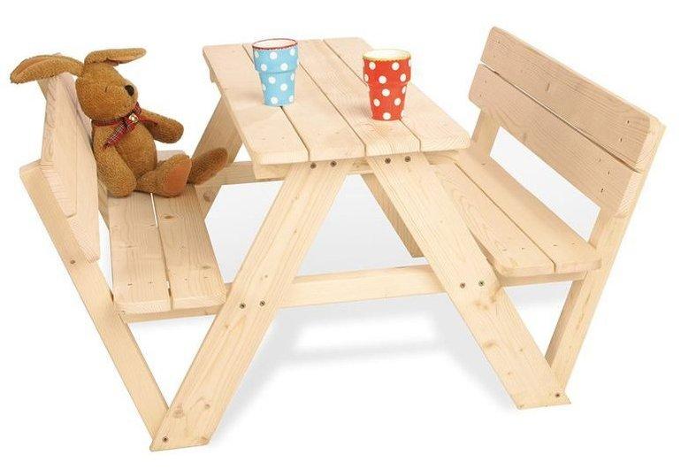 Pinolino Kindersitzgarnitur Nicki für 4 mit Lehne für 43,86€ inkl. VSK (statt 63€)