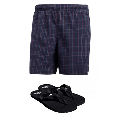 Adidas 2-teiliges Badeset mit Badehose und Flip Flops für 35,99€ inkl. VSK