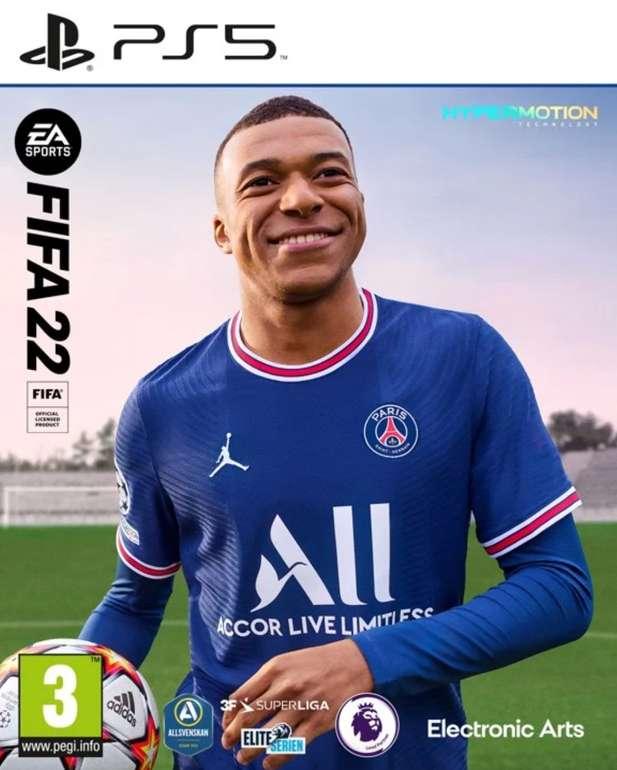FIFA 22 (PS5) für 55€ inkl. Versand (statt 60€)