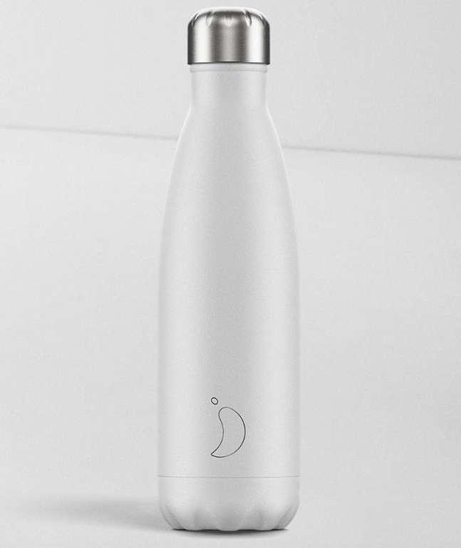 Chillys Wasserflasche aus Edelstahl (500ml Volumen, verschiedene Farben) für je 14,50€ inkl. Versand