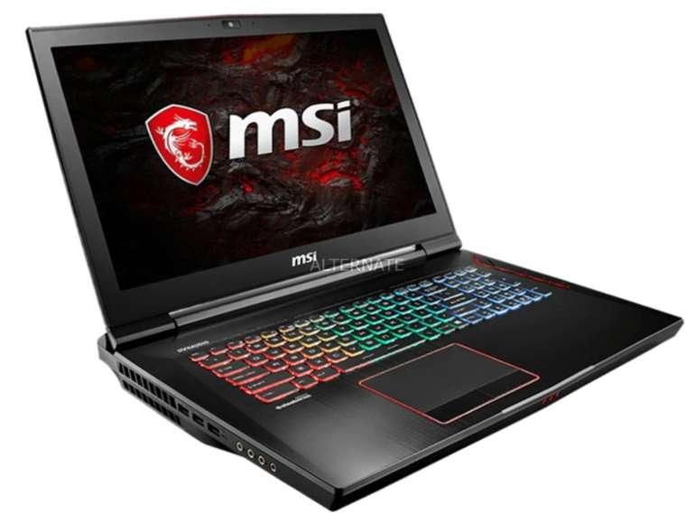 MSI GT73EVR Titan Pro Gaming Notebook für 1709,99€ (statt 2000€)