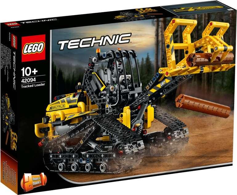 Lego Technic - 2 in 1 Raupenlader (42094) für 53,56€ inkl. Versand (statt 68€)