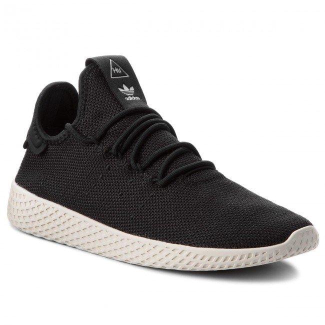 Adidas Originals Pharell Williams PW Tennis Herren Sneaker in Schwarz für 77€ inkl. Versand (statt 100€)