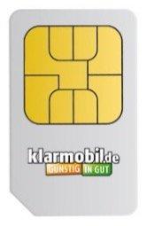 2x Klarmobil SIM + jeweils 2€ Guthaben + 30€ Gutschein für Amazon für 4,90€